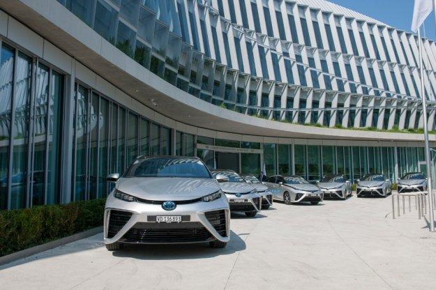 Zero emisyjne Toyota Mirai na usłudze MKOL