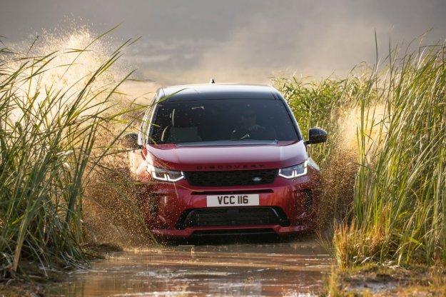 Odświeżony Land Rover Discovery Sport