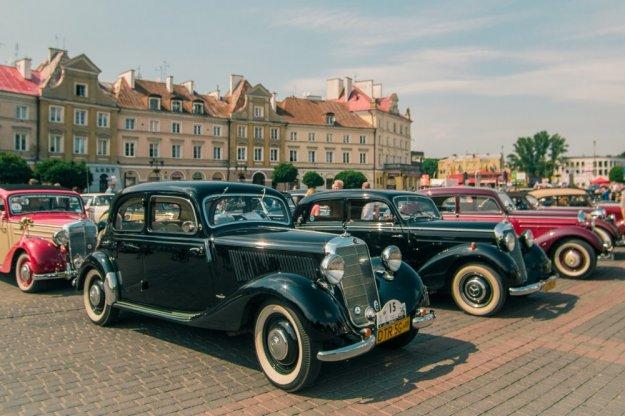 XVIII Zlot Zabytkowych Mercedesów na Śląsku