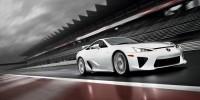 www.moj-samochod.pl - Artykuďż˝ - Lexus testuje zmodyfikowaną wersję modelu LFA