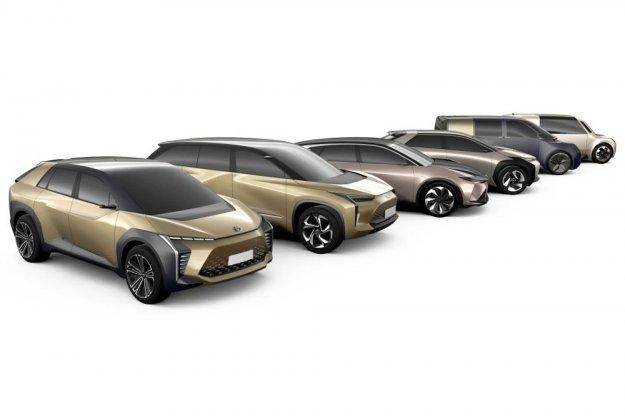 Sześć koncepcyjnych elektrycznych modeli Toyota