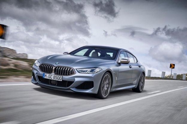 Nowe BMW serii 8 w nadwoziu Gran Coupe