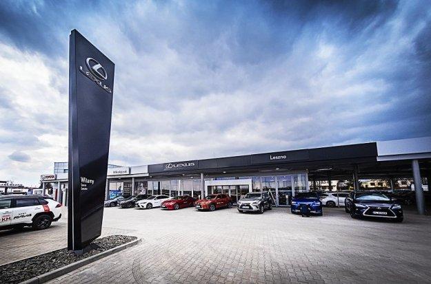 Rośnie sieć dealerska marki Lexus