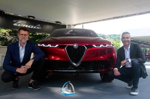 Koncepcyjny Alfa Romeo Tonale zdobywca nagrody