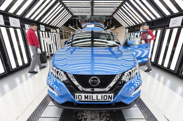 W fabryce Nissan wyprodukowano 10 milionów samochodów