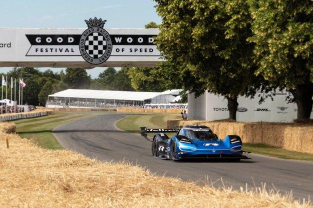 Elektryczny Volkswagen ID.R szybszy od bolidu F1