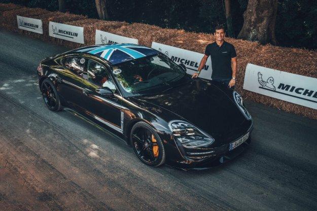 Porsche Taycan z wizytą na Festiwalu Prędkości