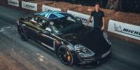 www.moj-samochod.pl - Artykuďż˝ - Porsche Taycan z wizytą na Festiwalu Prędkości