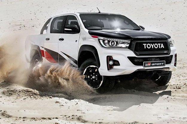 Toyota Hilux w limitowanej wersji GR Sport