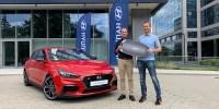 www.moj-samochod.pl - Artykuďż˝ - Cezary Gutowski został ambasadorem modelu Hyundai i30N