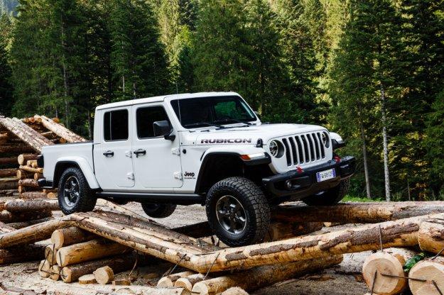 Jeep Gladiator gwiazda Camp Jeep IT 2019