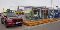www.moj-samochod.pl - Artykuďż˝ - Letni salon Forda wśród urlopowiczów