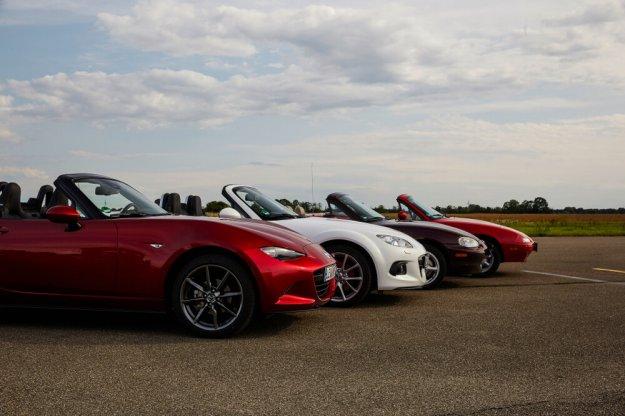 Urodzinowa impreza modelu Mazda MX-5 w Łodzi
