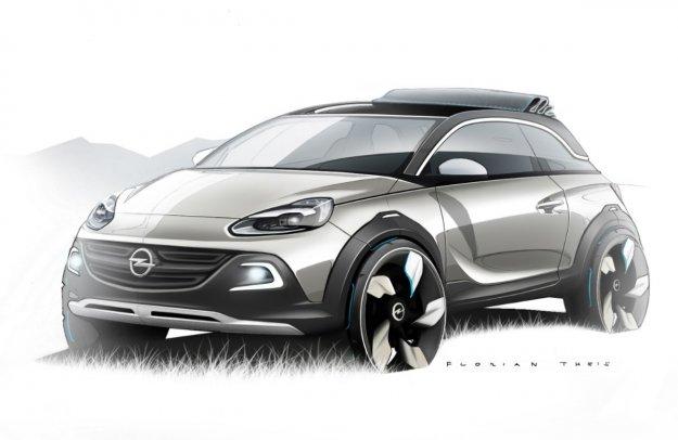 Opel Adam Rocks - najmniejszy Crossover na rynku