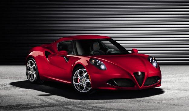 Alfa Romeo 4C - powrót do korzeni