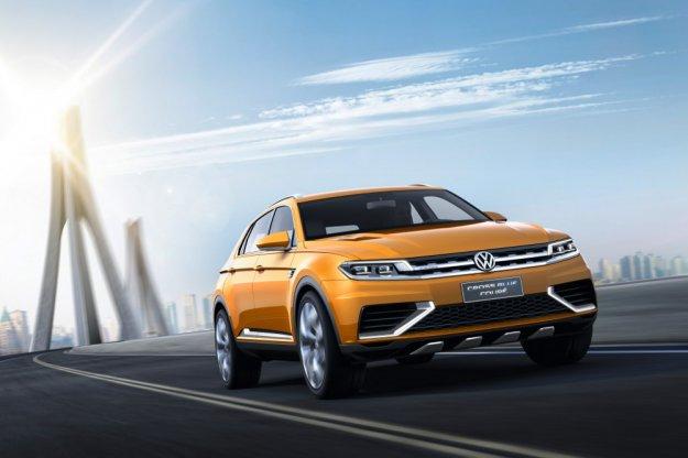 Wysyp nowych VW w Shanghaju w tym nowy SUV CrossBlue Coupe