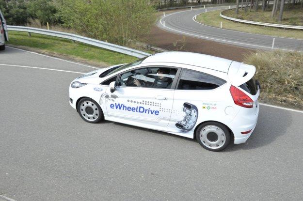 eWheelDrive - Ford Fiesta z innowacyjnym silnikiem w kołach