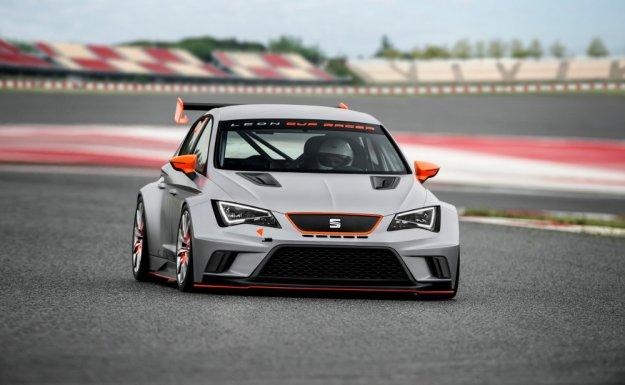 Seat Leon Cup Racer - samochód na tor wyścigowy