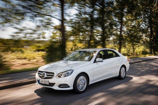 Mercedes E-Klasa z nowym i bardziej ekologicznym silnikiem