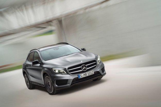 Mercedes GLA - nowy, uzupełniający ofertę SUV w niemieckiej rodzinie