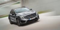 www.moj-samochod.pl - Artykuł - Mercedes GLA - nowy, uzupełniający ofertę SUV w niemieckiej rodzinie