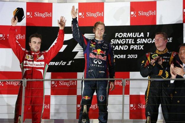 F1 Singapur - nocny wyścig bez niespodzianek