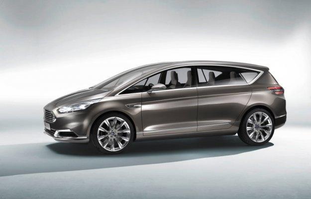 Ford S-Max Concept - nawet duża bryła może być sportowa