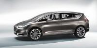 www.moj-samochod.pl - Artykuł - Ford S-Max Concept - nawet duża bryła może być sportowa