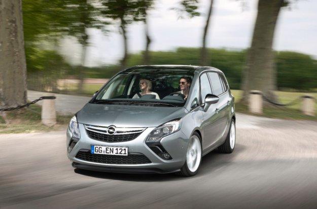 Opel Zafira, z nową mocą w konkurencję