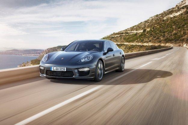 Mocniejsze Porsche Panamera dla ceniących wygodę