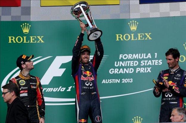 F1 w Ameryce, Vettel z nowym rekordem