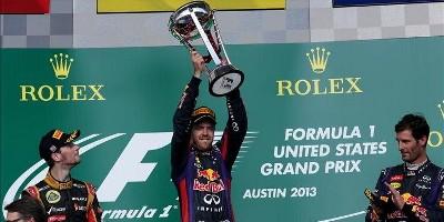 www.moj-samochod.pl - Artykuďż˝ - F1 w Ameryce, Vettel z nowym rekordem