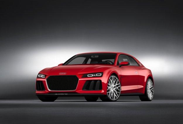 Przyszłość reflektorów według Audi w Las Vegas