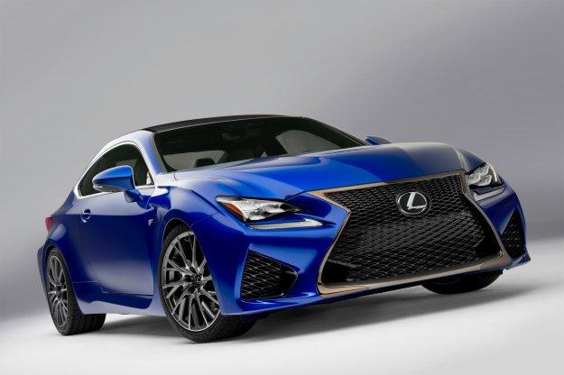 Nowy sportowy Lexus RC F zostanie zaprezentowany na NAIAS