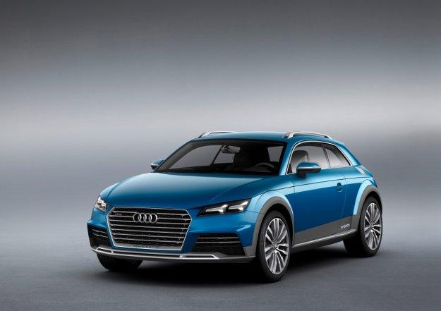 Pokazowy kompaktowy miejski Crossover od Audi e-tron
