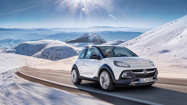 Małe, miejskie, zwinne - nowy Opel Adam Rocks