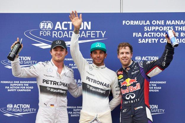 Podwójna wygrana Mercedesa, kolejna wpadka Red Bulla