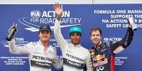 www.moj-samochod.pl - Artykuďż˝ - Podwójna wygrana Mercedesa, kolejna wpadka Red Bulla