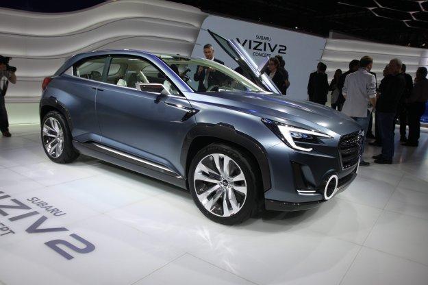 Widok w przyszłość Subaru - Viviz 2 Concept