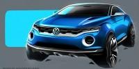 www.moj-samochod.pl - Artykuďż˝ - Volkswagen T-Roc, koncept uchylający przyszłość niemieckich SUVów
