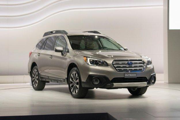 Viviz2 Concept wykorzystany - nowy Subaru Outback