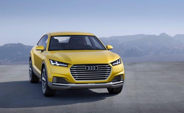 Audi TT Offroad concept, połączenie offroadu ze sportem