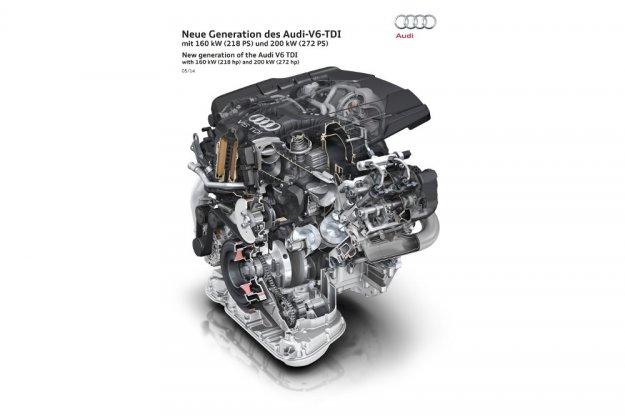 Audi przedstawią swoją nową wysokoprężną V6