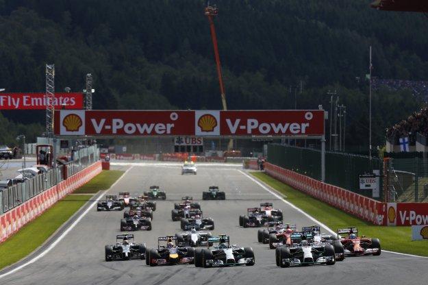 F1 w Belgi, słaby debiut, mocny start nie oczekiwany wynik
