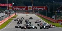 www.moj-samochod.pl - Artykuďż˝ - F1 w Belgi, słaby debiut, mocny start nie oczekiwany wynik