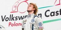 www.moj-samochod.pl - Artykuďż˝ - Pierwsza wygrana Polaka w tegorocznym VW Castrol Cup