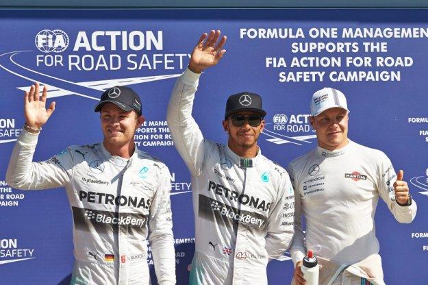 F1 Włochy - Fatalny poślizg Rosberga, rosnąca forma Bottasa