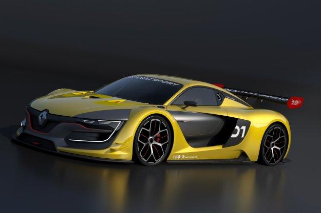 Renault R.S. 01 - powrót do sportów motoryzacyjnych