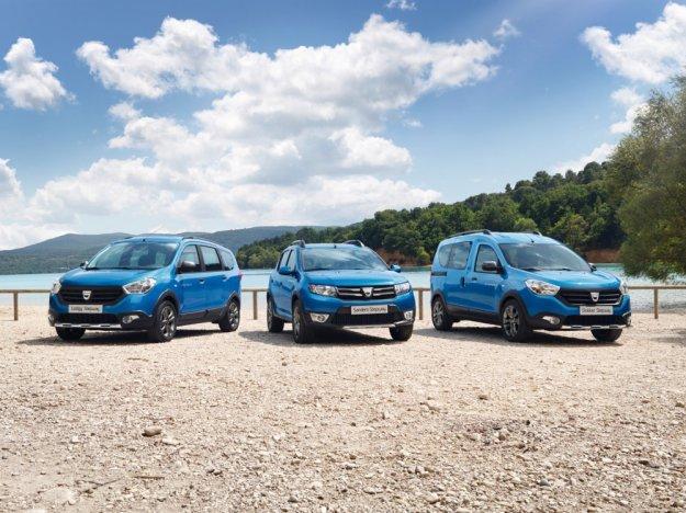 Rodzina samochodów Dacii Stepway z nowymi dwoma modelami