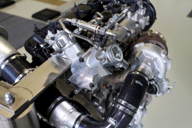 Volvo przedstawiło swój 450 konny silnik